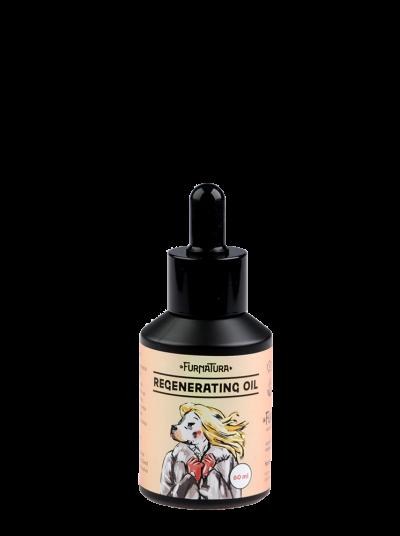 Regenerační olej na psí srst